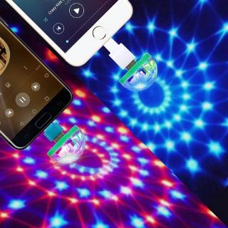 Portable Christmas Lights.Hk Mini Disco Light Portable Home Party Light Dc 5v Disco Ball Christmas Light Halloween Led