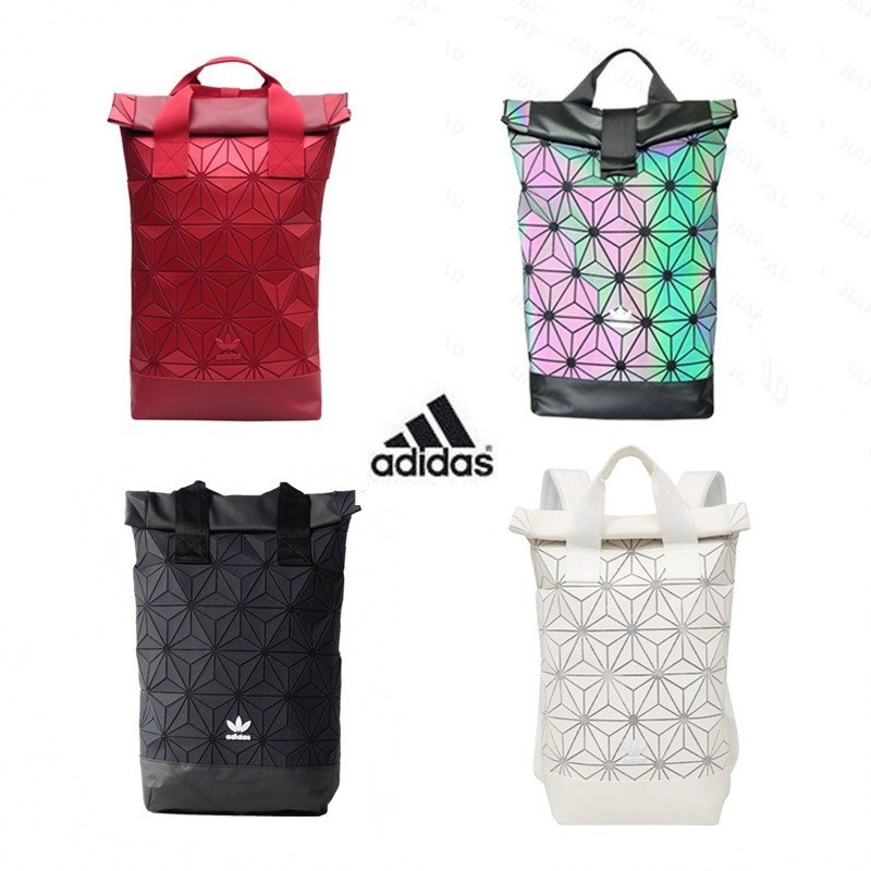 Limited Edition Adidas x Issey Miyake 3D Urban Mesh Roll Up Backpack Bag  pink  648e1d79ce19e