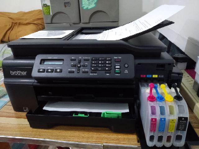 Brother MFC-J200 w/ CISS and Inkwise Premium UV-Dye Ink