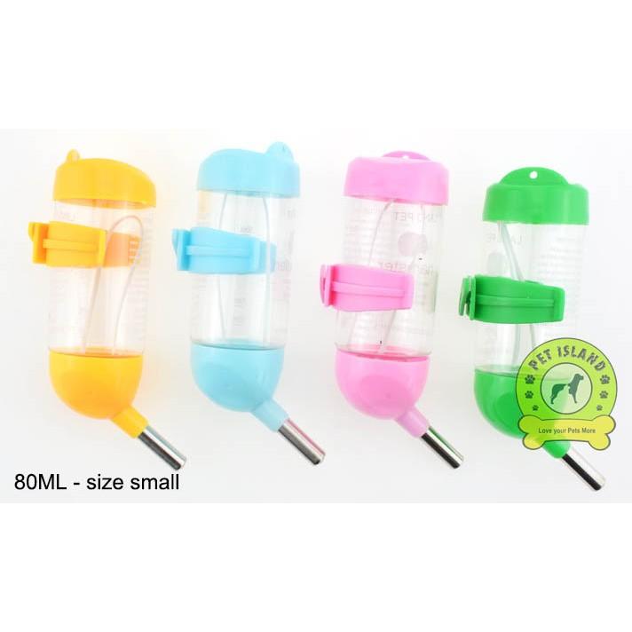 Water bottle for small pet (hamster, rabbit)