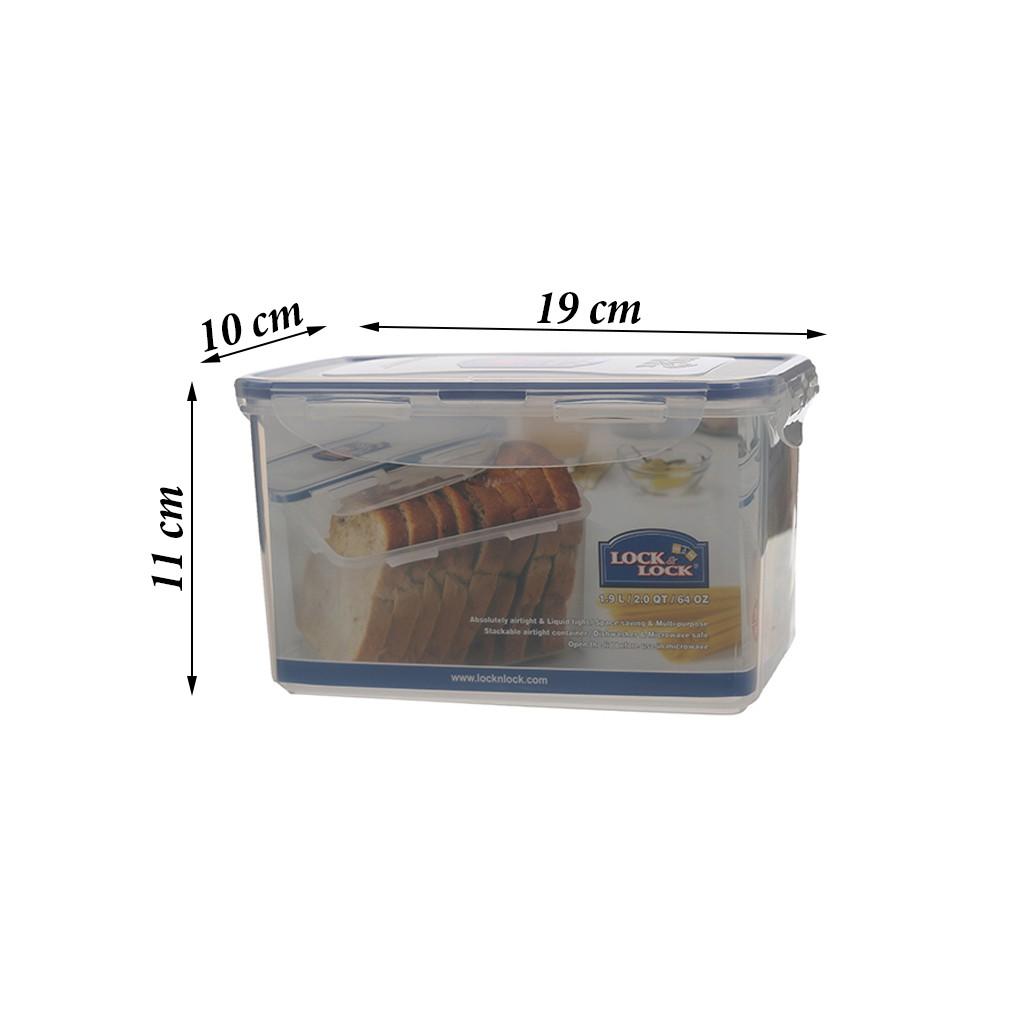 Lock & Lock HPL818 Rectangular Tall Foodkeeper 1 9L | Shopee