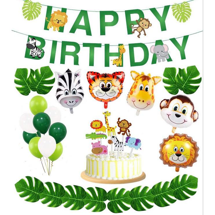 Jungle Theme Birthday Banner Birthday Party Decoration Monkey Theme Zoo Theme First Birthday Banner Highchair MONKEY I Am 1 Banner