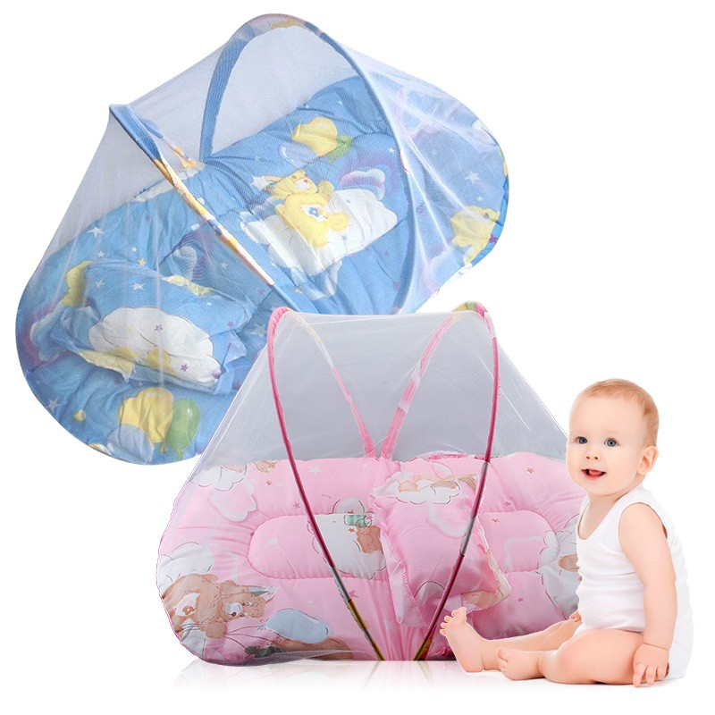 Kub Foldable Soft Baby Mosquito Net Crib Bedding With