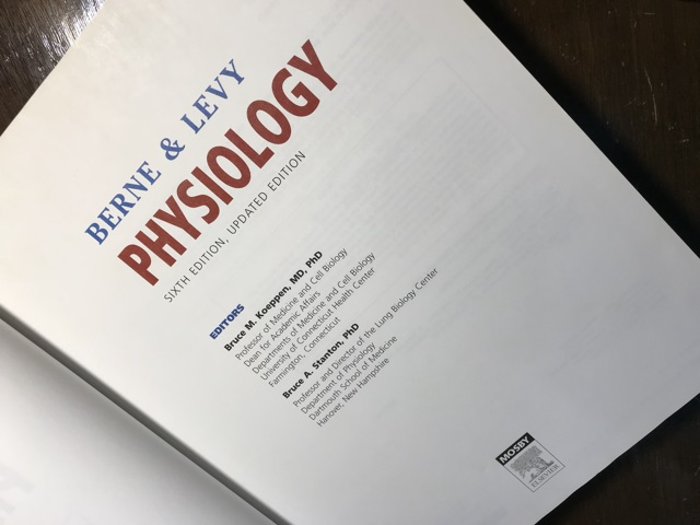 Berne & Levy Physiology 6th edition Original Textbook