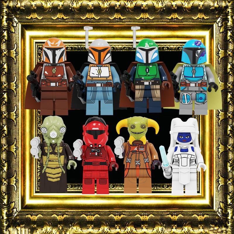 Bai Li Star Wars Lego Moc Minifigure Toys Gift Boolio