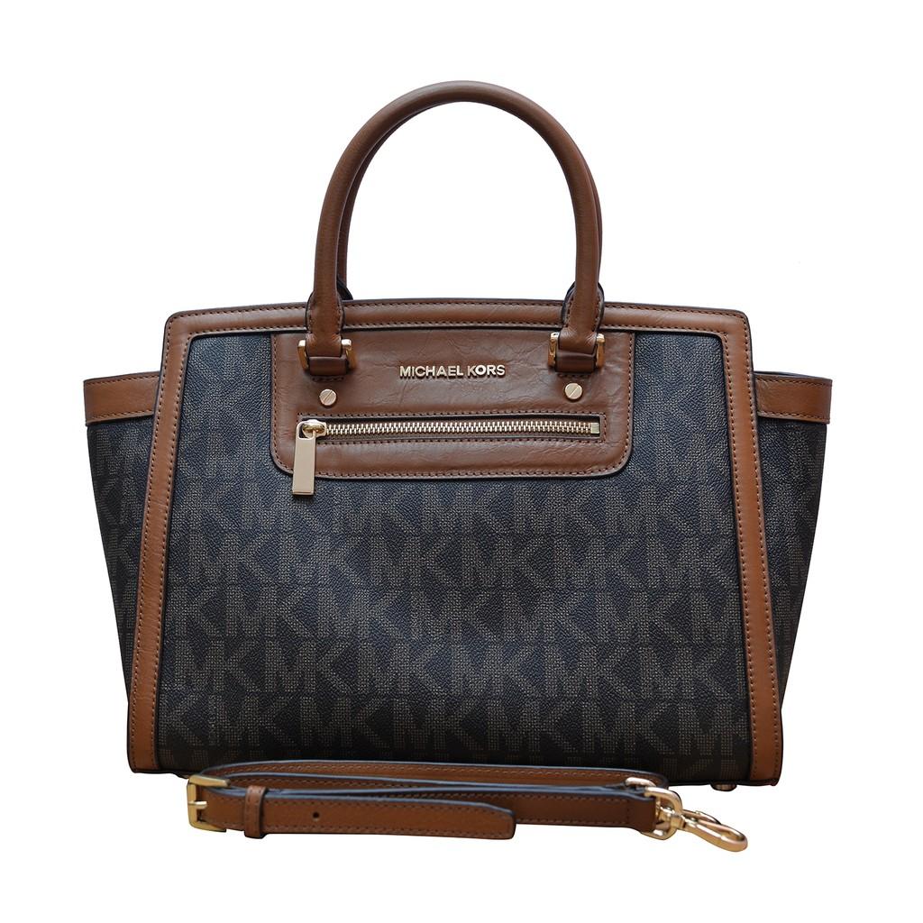 03f3f5b13a3e Authentic Michael Kors Saffiano Luggage Satchel Leather