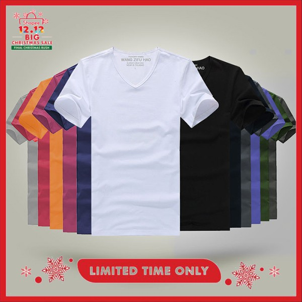4f9437f5 [Monkey king]plain round neck Tshirt for wholesale(8-4537) | Shopee  Philippines