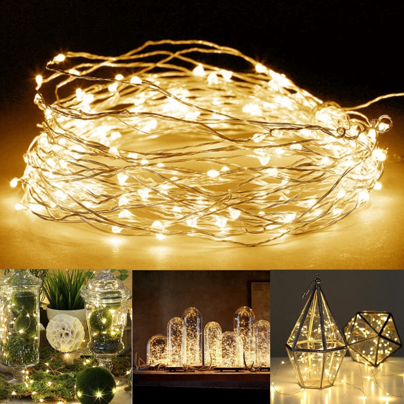 Alert 2.2m 20led Copper Wire Light String Expression Decor Lights Holiday Wedding Party Festival Home Decorations Lighting Lamp Lights & Lighting