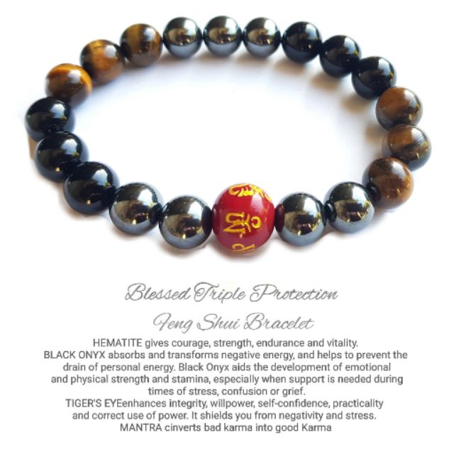 SALE! BLESSED ALL AUHENTIC TRIPLE PROTECTION BRACELET