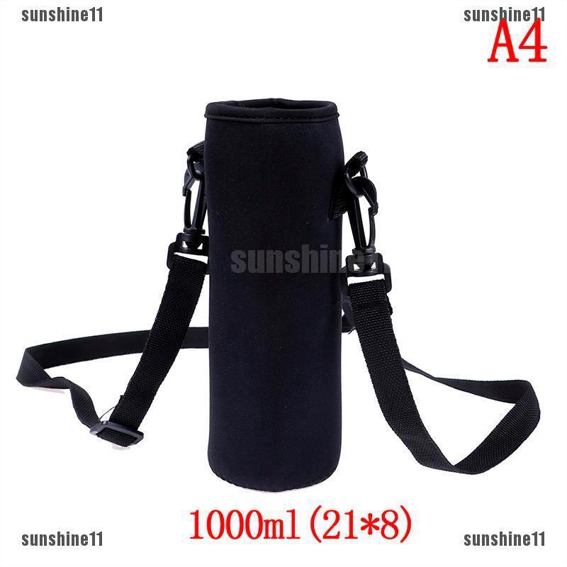 2pcs Portable Water Bottle Holder Carrying Net Mesh Sleeve Bag for Picnic