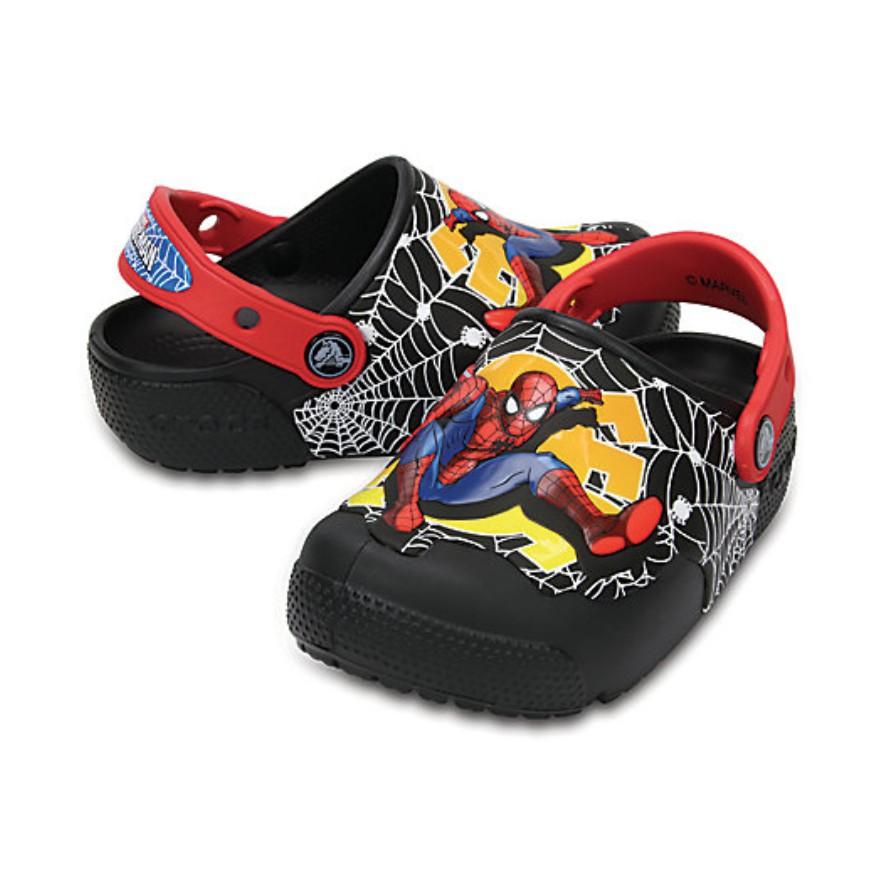 2d41a615b Kids  Crocs Fun Lab Lights Spider-Man™ Clogs
