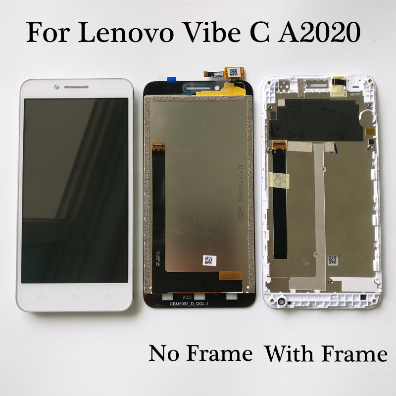 For Lenovo Vibe C A2020 A2020a40 LCD Display Touch Screen