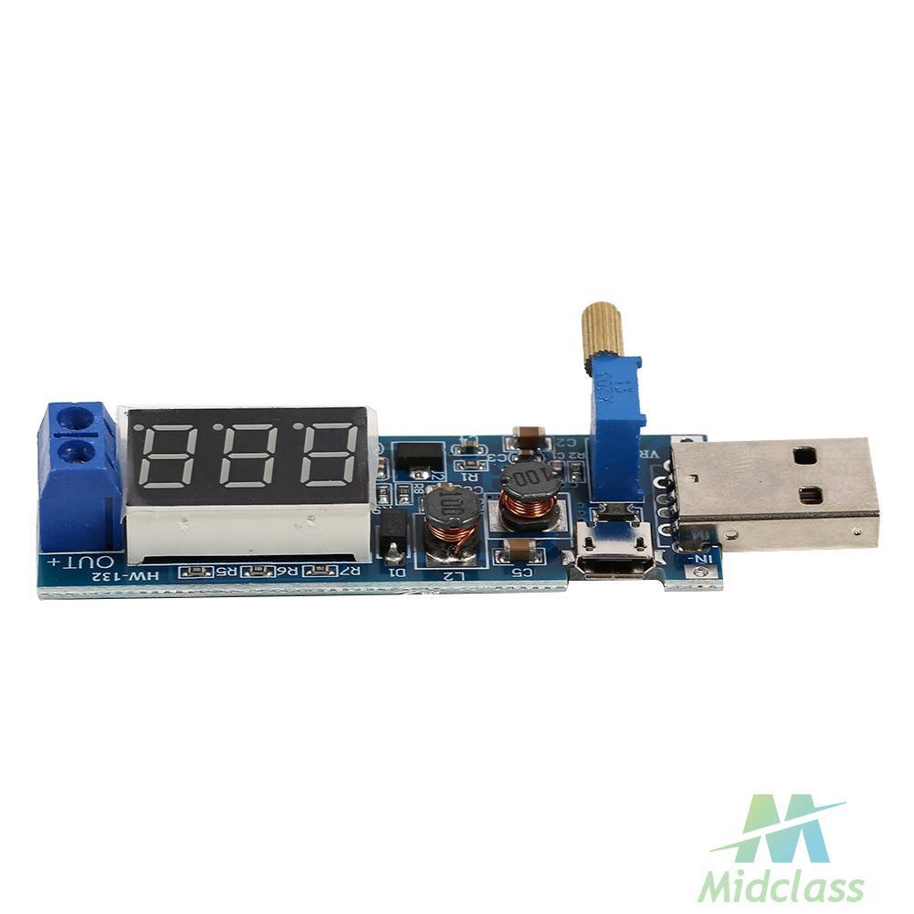 DC-DC 5V to 3.3V 9V 12V 24V USB Boost Regulator Power Module