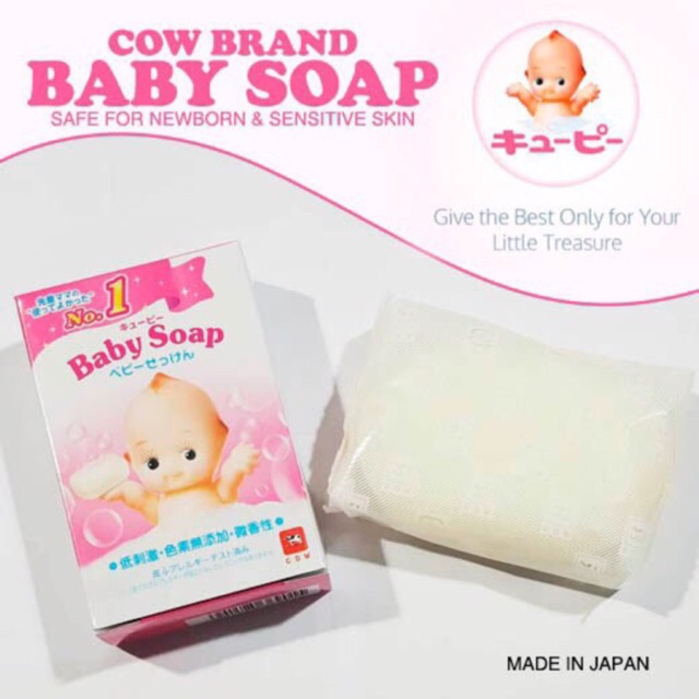 Cow Qp Baby Soap Made In Japan Shopee Philippines