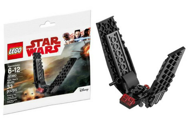 LEGO Star Wars Kylo Ren/'s Shuttle 30380 Brand New Sealed Polybag