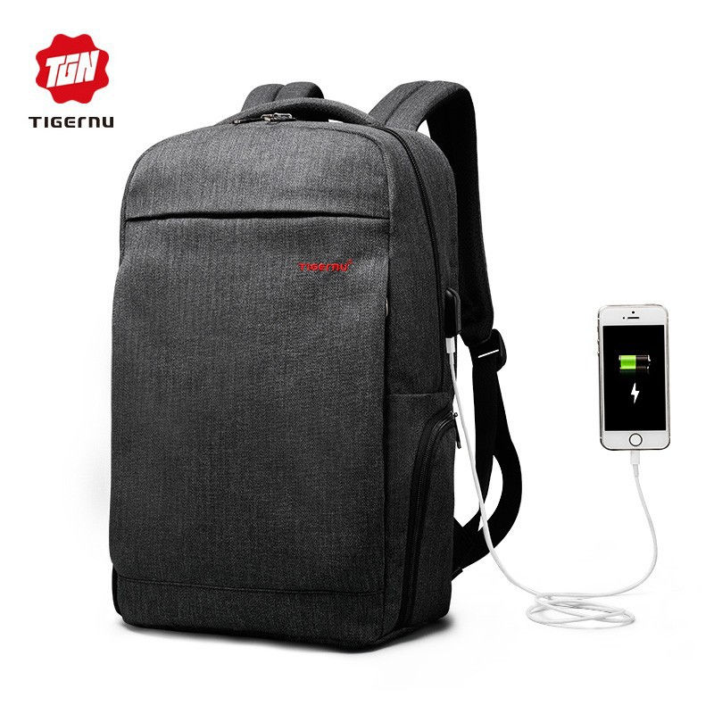 ce43dff9c121 Tigernu Brand 15.6inch Men s Backpack Large Capacity Laptop Backpack  Business