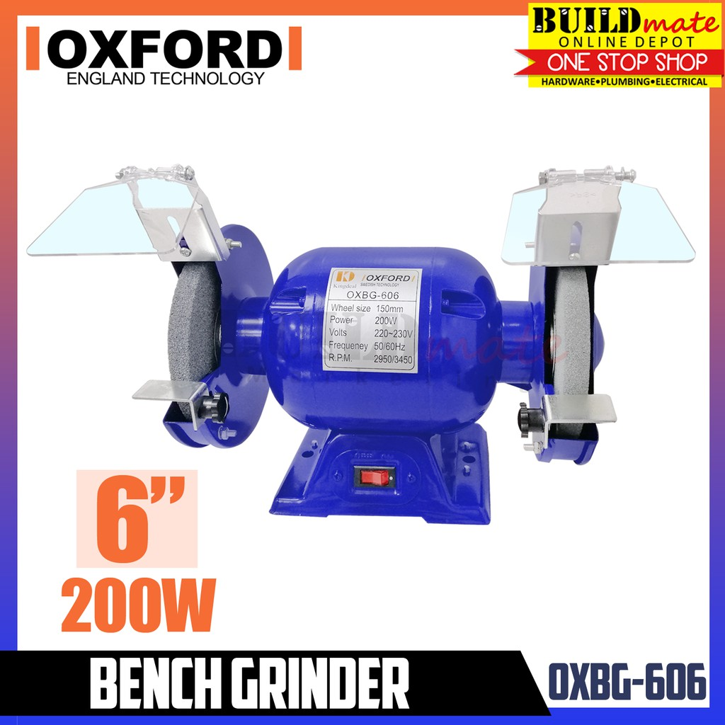 OXFORD ENGLAND Bench Grinder 5"