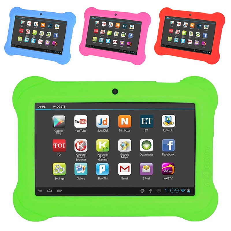 7in 4GB Android 4 4 Wi-Fi Kids Tablet PC Multitouch Display