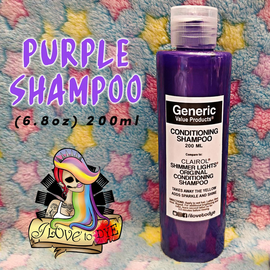 200ml GVP Generic Value Product Purple Shampoo (MADE in US)