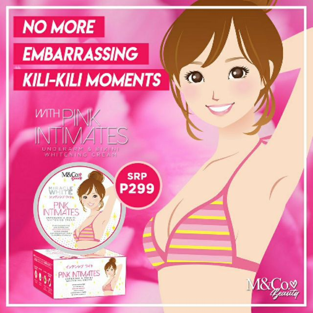 M Co Underarm And Bikini Whitening Cream Shopee Philippines