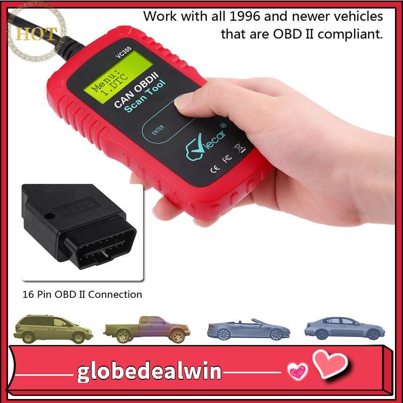 Car Auto OBD2 OBD Diagnostic Scanner Tool Fault Code Reader