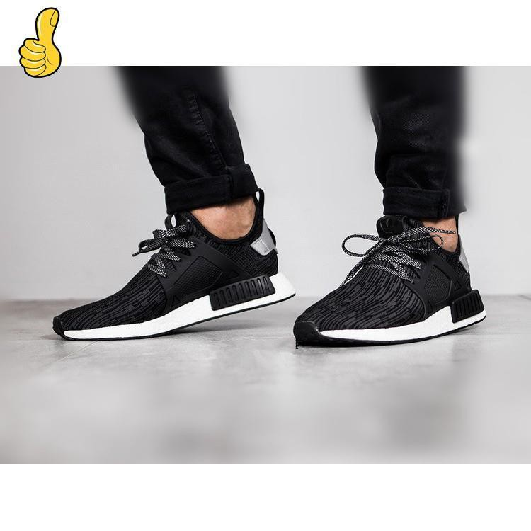 Ready Stock 100%Original Adidas NMD XR1 Primeknit Oreo M