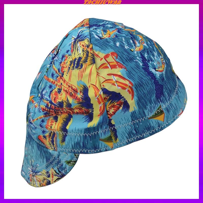 Fashion Elastic Welding Welder Hat Cap Pure Cotton Flame Retardant Beach