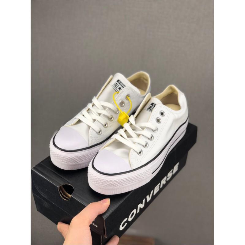 Converse All Star Lift Women's Shoes Low Cut Fashion Casual Shoes Canvas Shoes Rubber Shoes