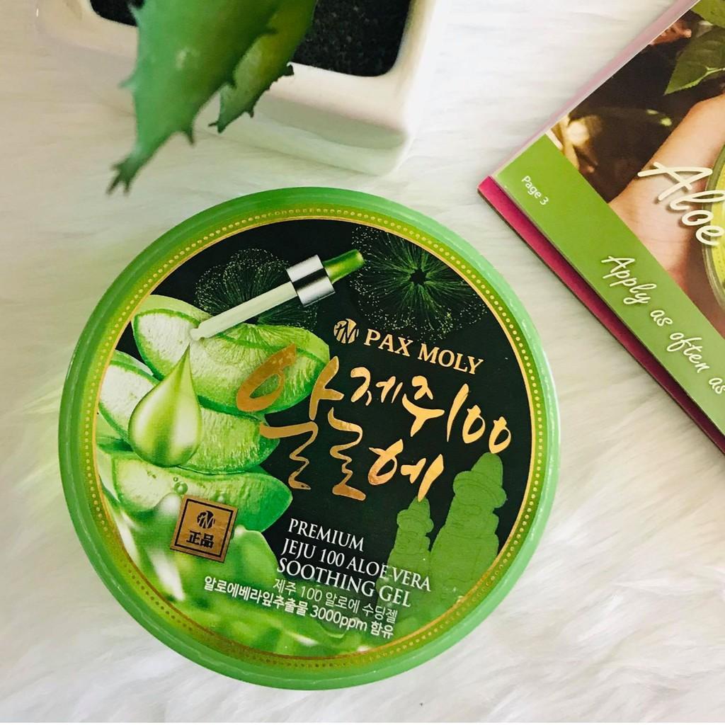 Pax Moly, Pax Moly Premium Jeju 100 Aloe Vera Soothing Gel, Pax Moly Premium Jeju 100 Aloe Vera Soothing Gel รีวิว, Pax Moly Premium Jeju 100 Aloe Vera Soothing Gel ราคา, Pax Moly Premium Jeju 100 Aloe Vera Soothing Gel 300 ml.