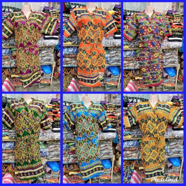 Batik Bathrobe Assorted Colors And Design