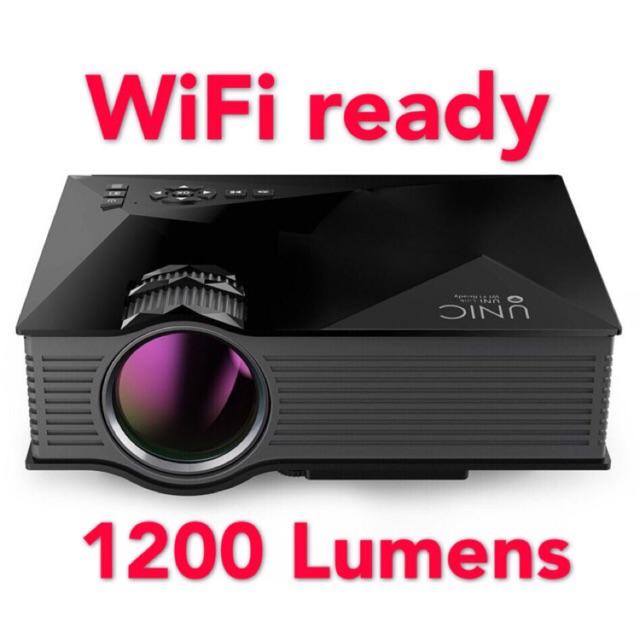 UNIC Uc46 wifi ready led projector 1200 lumens