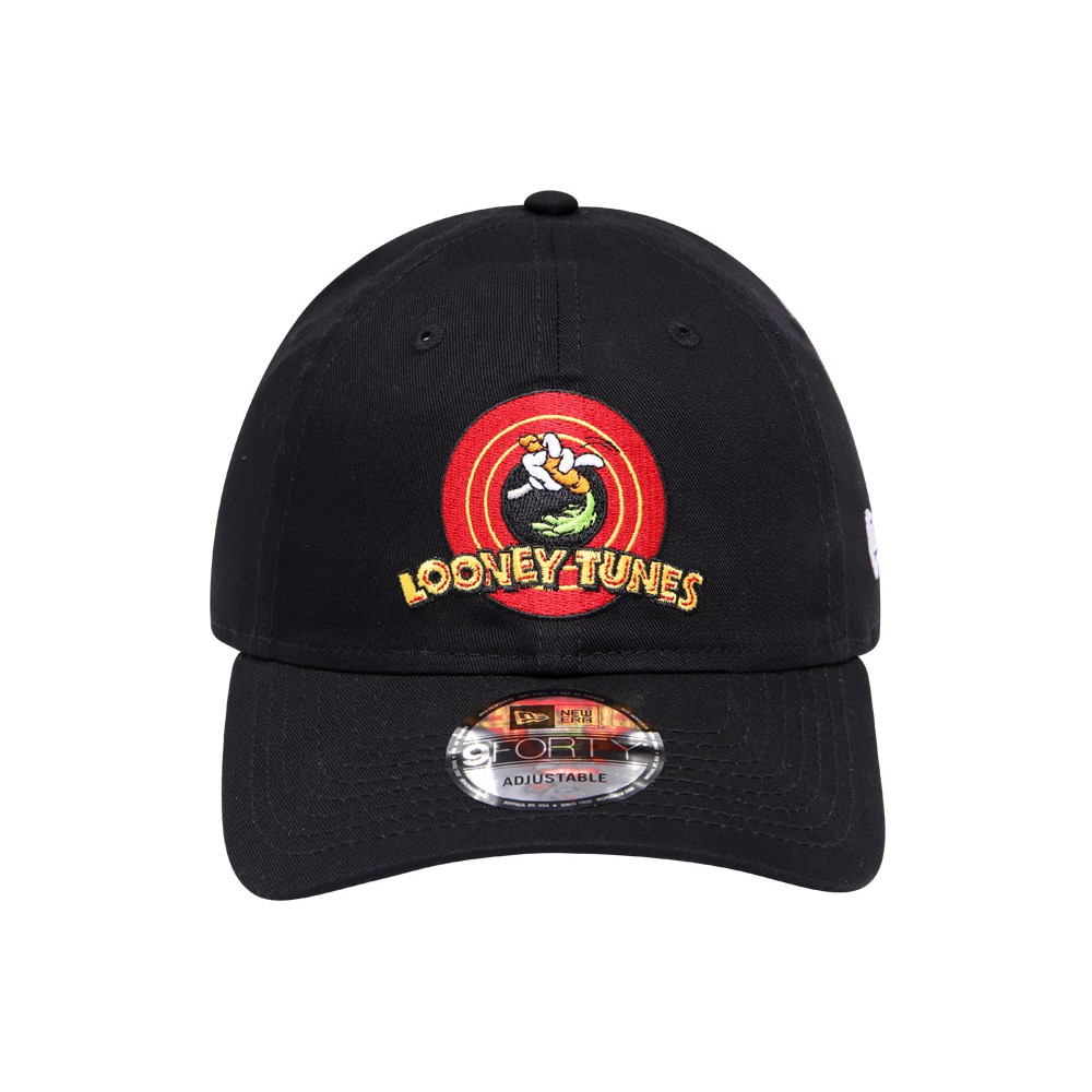 New Era Looney Tunes Logo Black 9FORTY Cap  42748fe15dd4