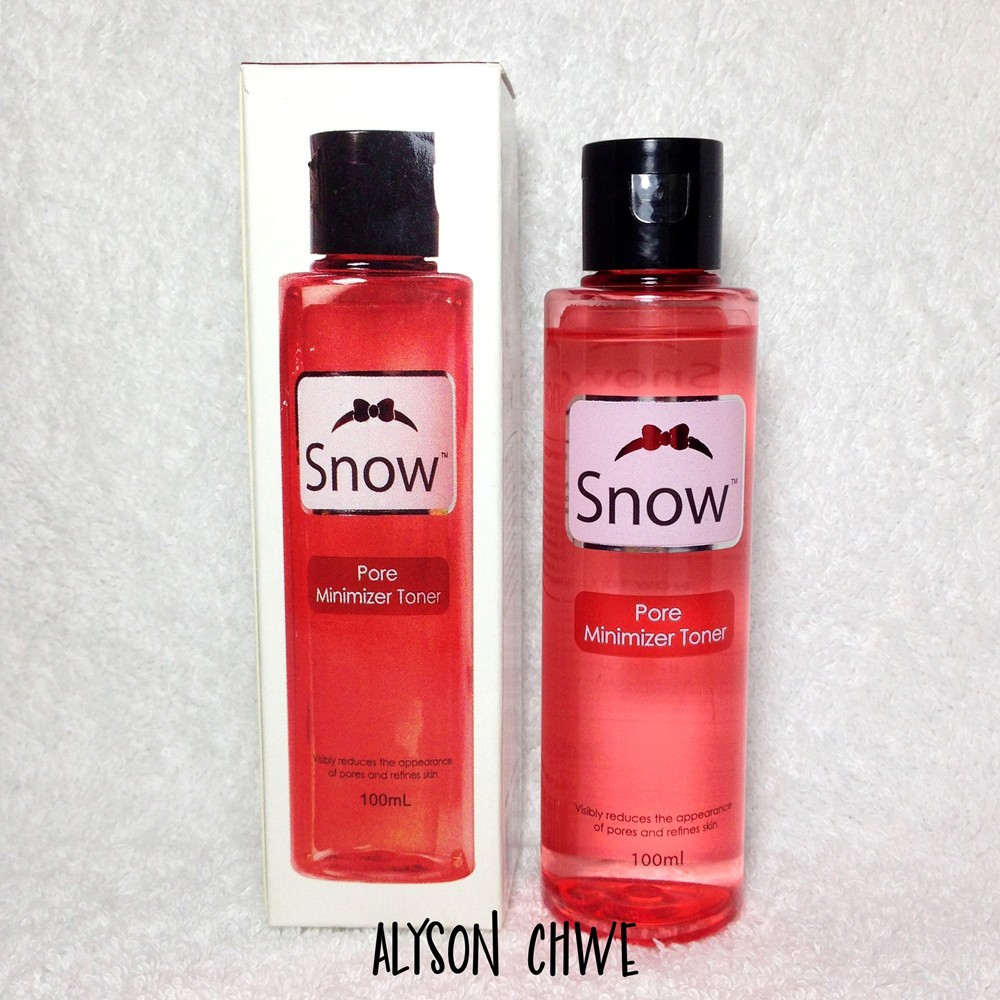 Snow Pore Minimizer Toner 100ml Shopee Philippines