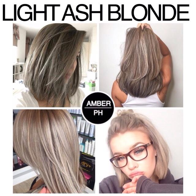 Light Ash Blonde Shopee Philippines