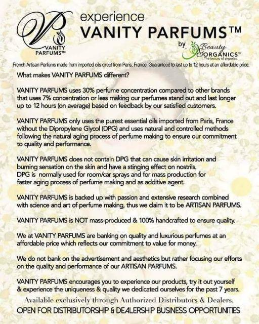 Woman Parfums by Beauty&Organics