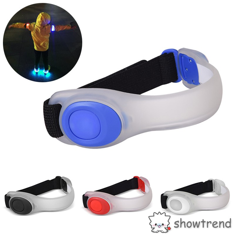 LED Reflective Light Arm Armband Strap Safety Belt For Night Running Cycling