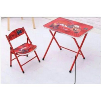 Special Offer Kids Folding Study Table With Chair Shopee Philippines