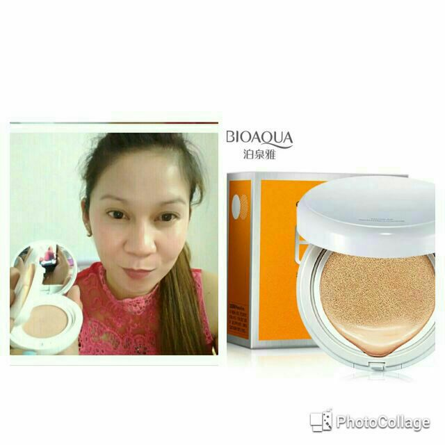 Authentic Bioaqua Air Cushion Bb Cream Sunscreen Concealer