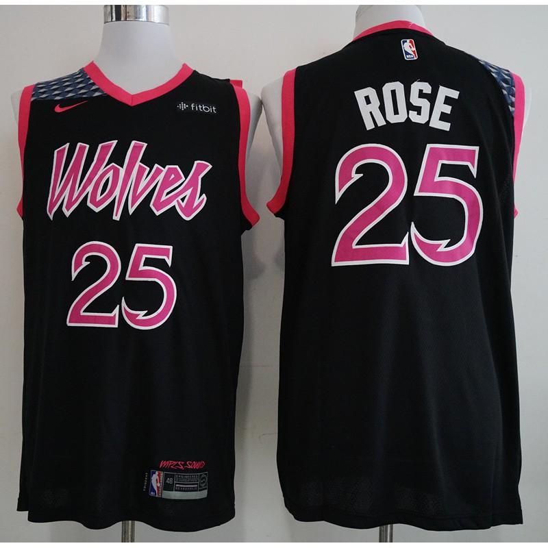 Nike Derrick Rose 25 Minnesota Timberwolves Nba Jersey Cod