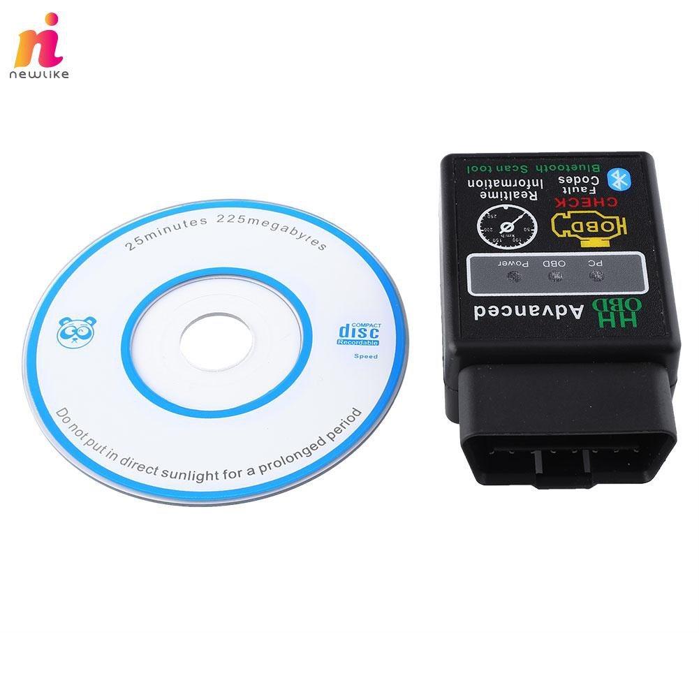 Universal V2 1 Bluetooth OBD Cars Diagnostic Scanner for And