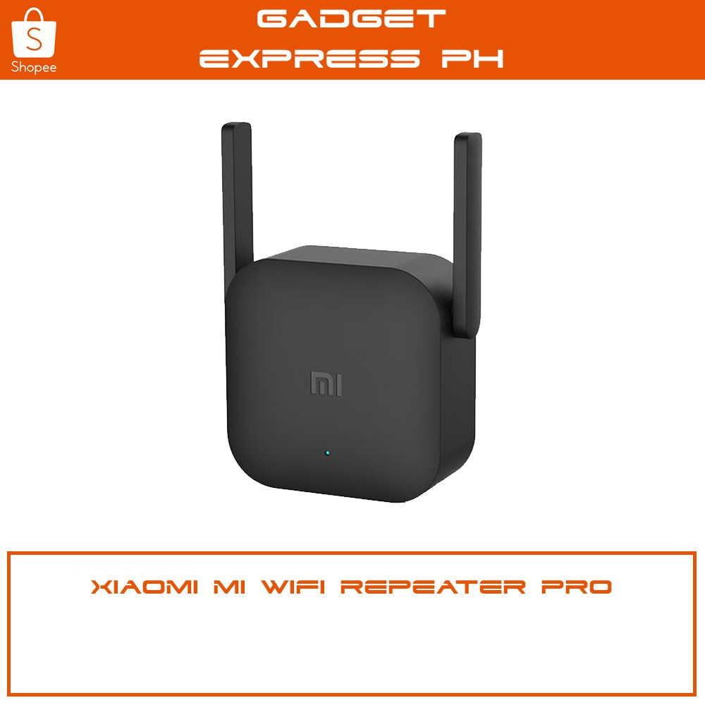 Xiaomi Mi Wifi Range Amplifier 2 Repeater Extender 300mbps Original Pro Shopee Philippines