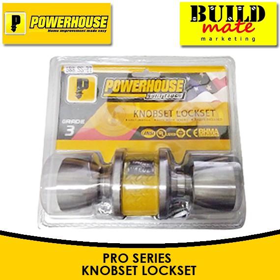 POWERHOUSE Door Knob Set Lockset 588 SS-ET🔥RESTOCK!🔥