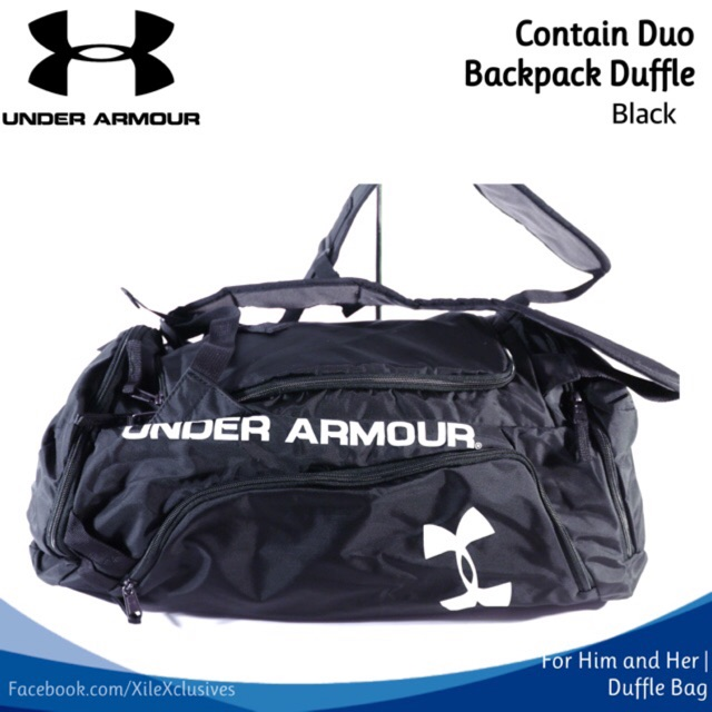 368280a1ede1 💕COD Imported Under Armour duffel (SALE!!!)