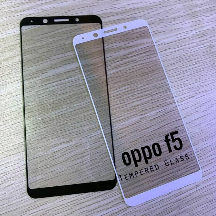 OPPO F5 Screen Tempered Glass Full Cover Screen protector