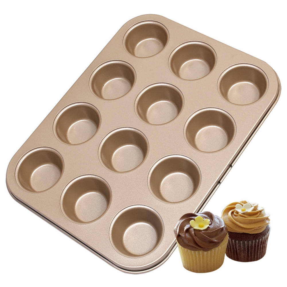 2pcs Donut Bagel Silicone Mold Cake Cookie Cheesecake Baking Non-Stick