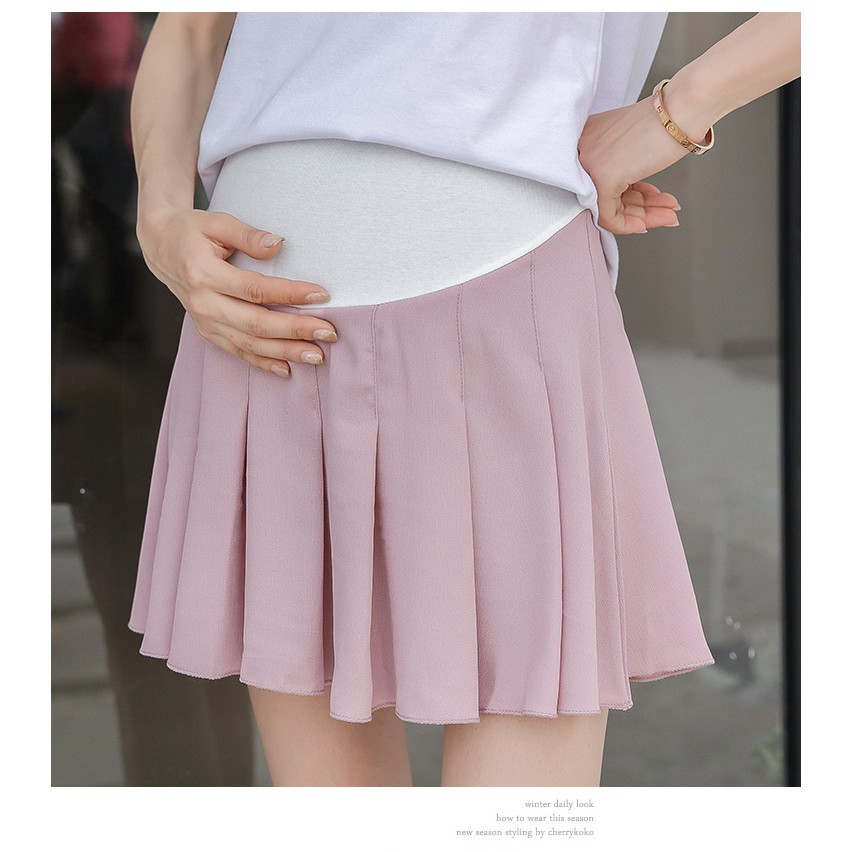 bd0609607f560 Maternity Sexy Mini Skirts for Pregnant Women Belly Bottoms   Shopee  Philippines