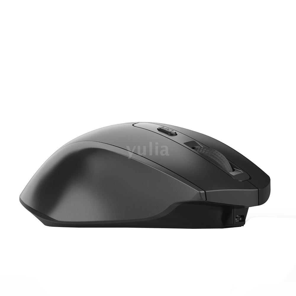 HXSJ T28 Vertical 2.4Ghz Wireless Rechargeable Mute Mouse 6D 2400DPI Silent Mice
