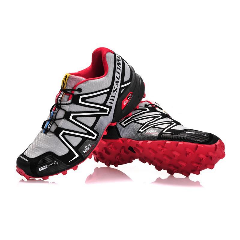 new product 8874d bd8c5 Men Salomon Speed Cross 3 CS Running Shoes White
