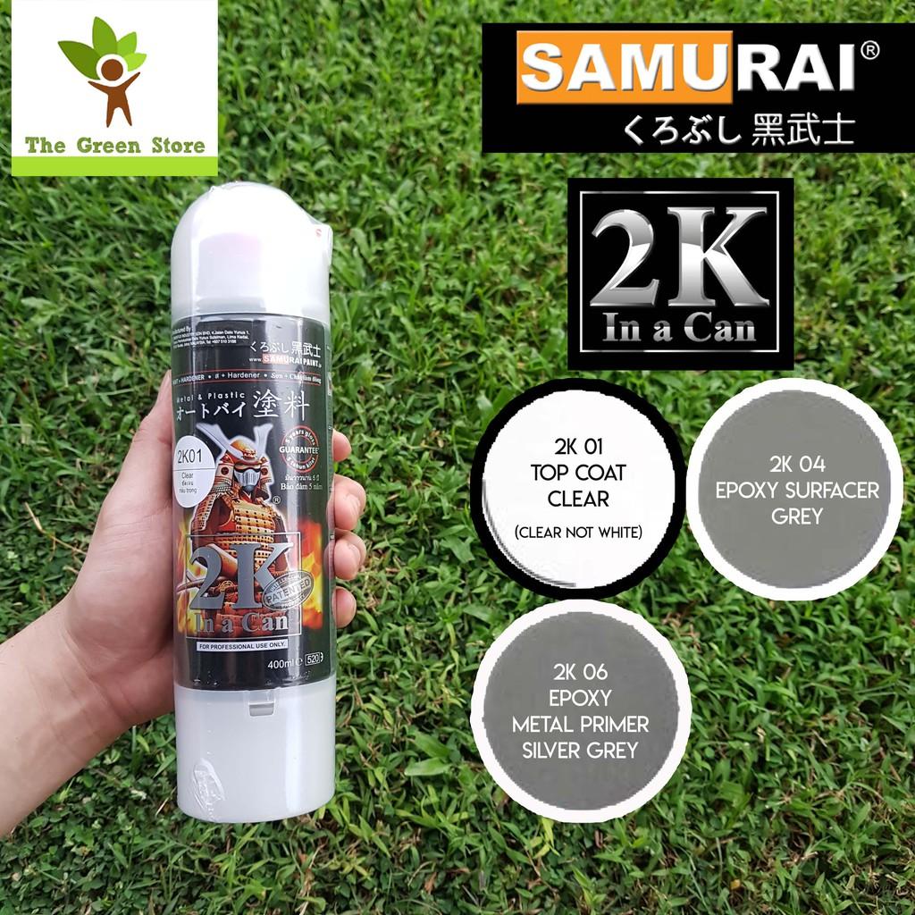 SAMURAI Spray Paint ( 2K in a Can ) 400ml