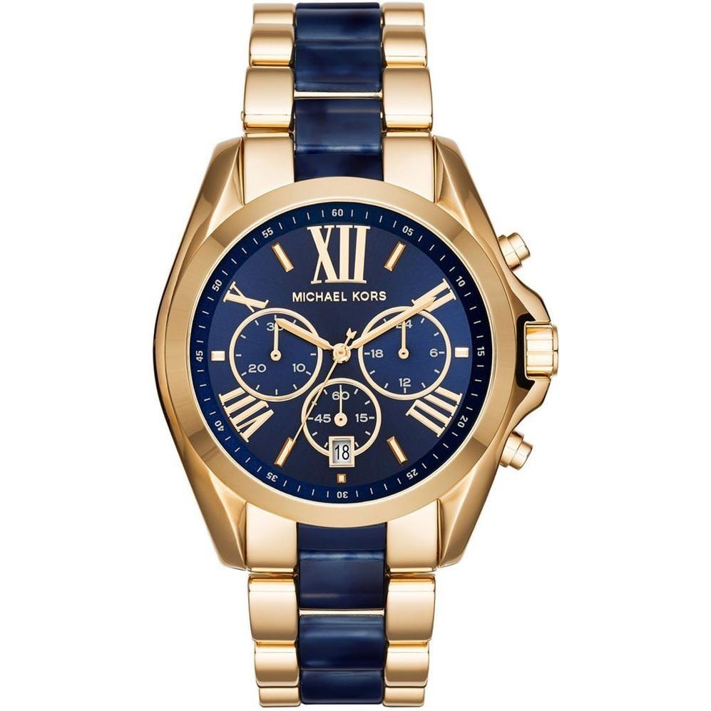 90a9fb6f075 Sale!!Authentic - Michael Kors-Bradshaw Blue Dial